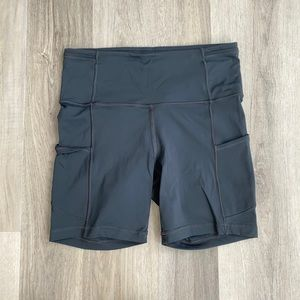 "Lululemon fast and free shorts 6"" Melanite"